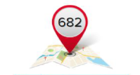 Example image showing average credit score of your area is 682 to represent detail you will find in the Credit sense app.